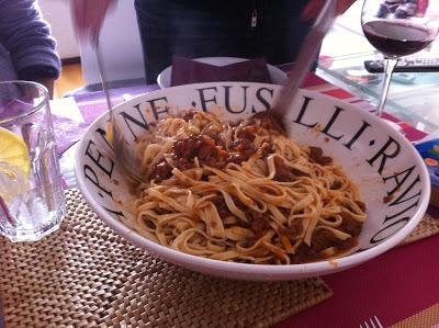 Salsa ragu a la boloñesa